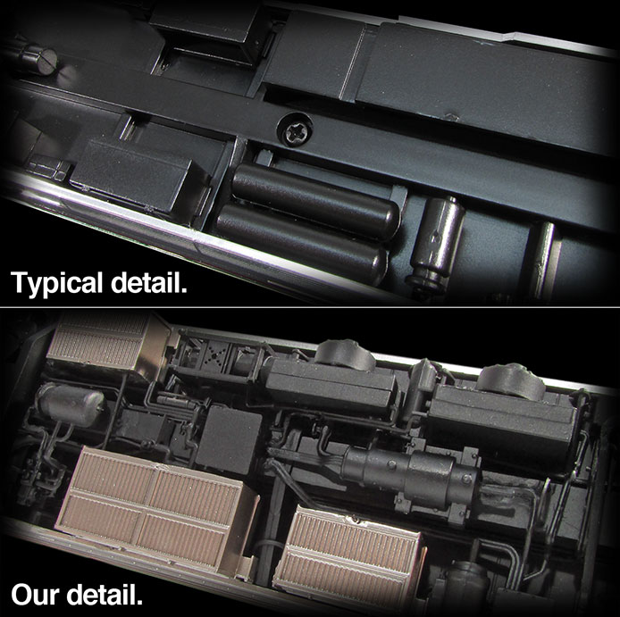 Rapido detail comparison