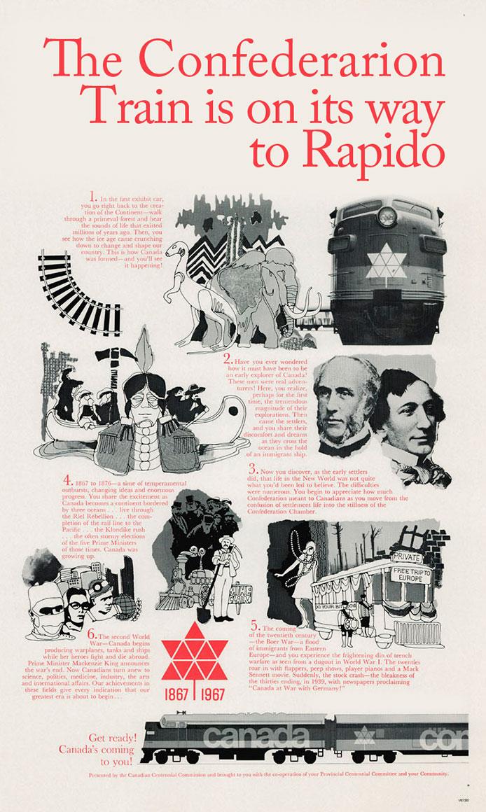Confederation Train Poster