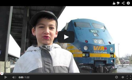 Boaz Shron Teaches a Train Lesson