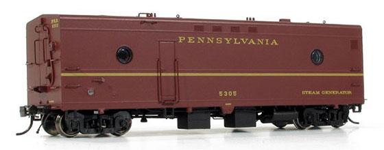 PRR Steam Car