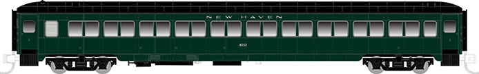 N Scale New Haven Coach