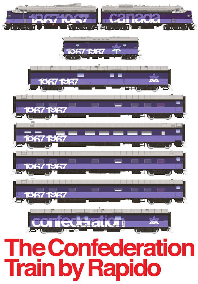 Rapido Confederation Train