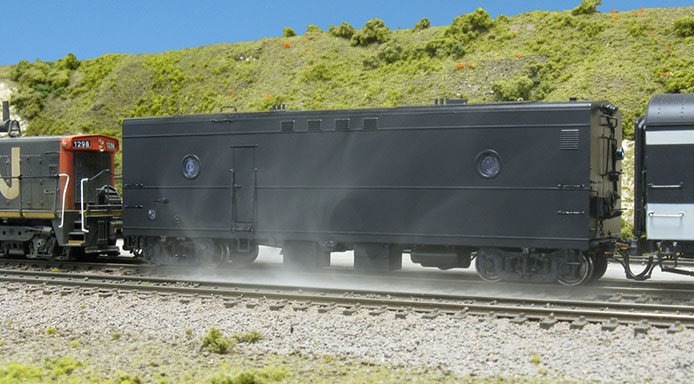 Rapido Steam Generator Car