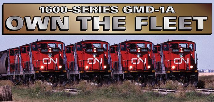 CN GMD-1 Fleet