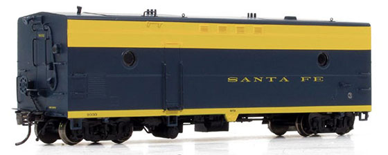 Santa Fe Steam Heater Car