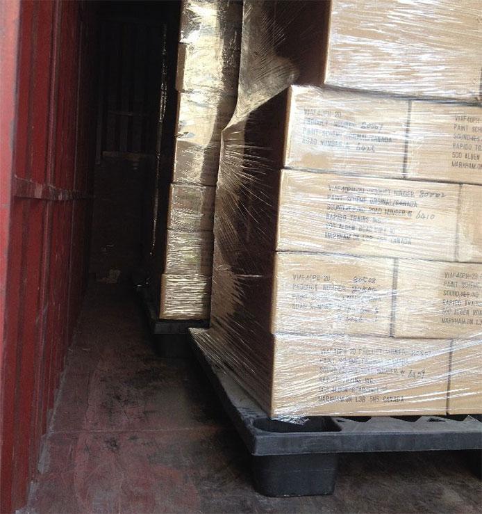Rapido F40PH-2D shipment