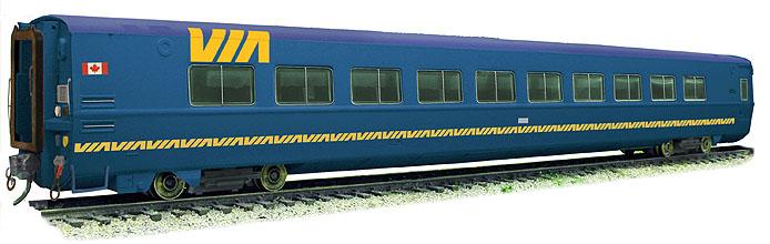VIA LRC Blue Coach