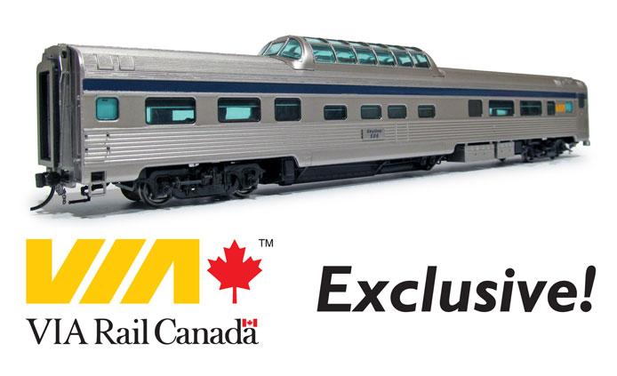 Exclusive VIA Rail Dome Car
