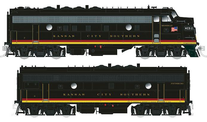 Kansas City Southern F Units