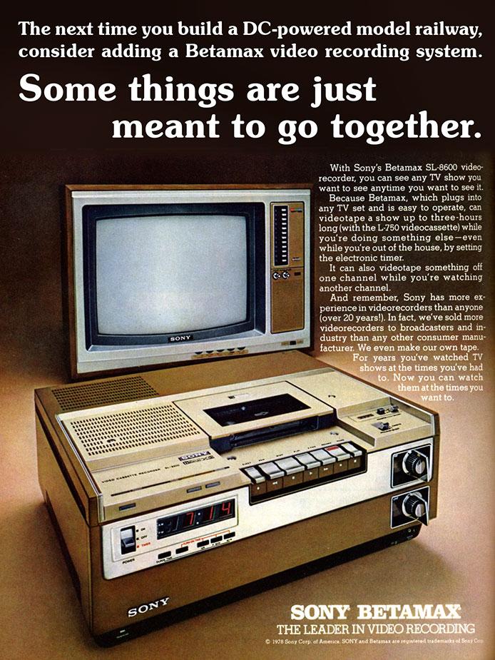 DC and Betamax