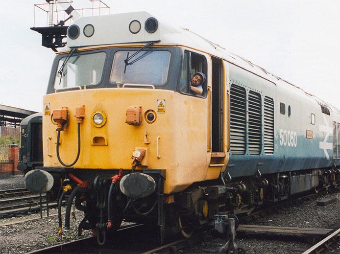Jason Shron Class 50 050