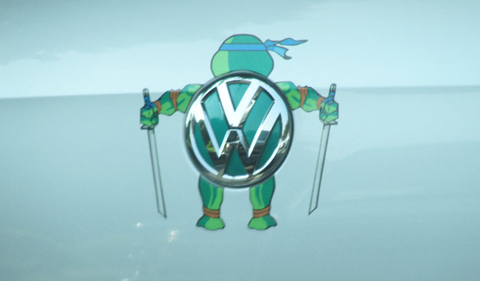 Teenage Mutant Ninja Volkswagen