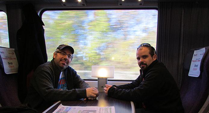 Jason Shron and Dan Garcia