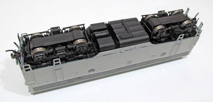 F9B locomotiv chassis