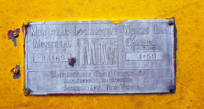 MLW Builder's Plate