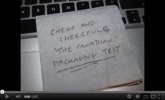 The Canadian packaging video