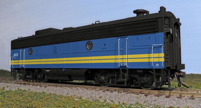 VIA F9B Locomotive