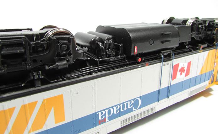 VIA Rail Canada F40 by Rapido