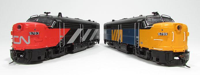 Rapido FPA-4 Locomotives