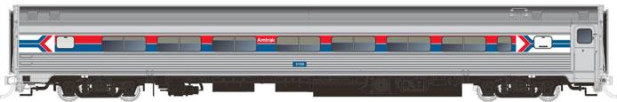Rapido Budd Coach - Amtrak