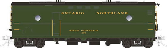 Ontario Northland Steam Generator Unit