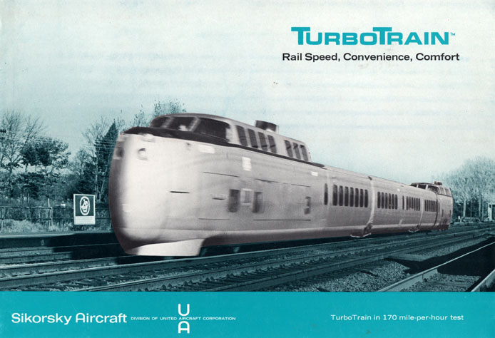 TurboTrain speed record