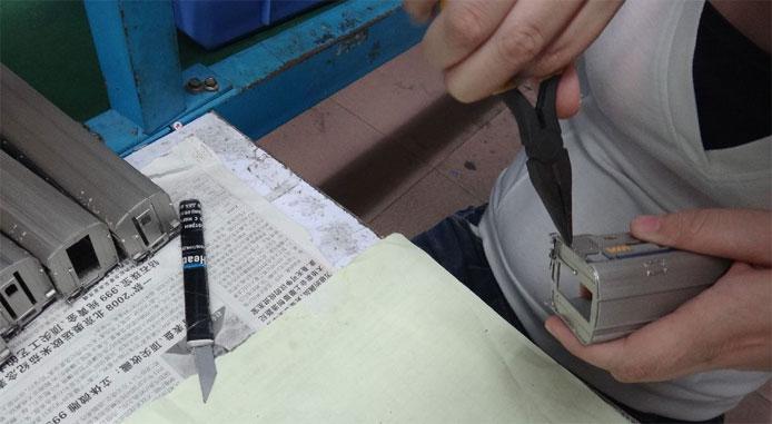 Installing Grab Irons