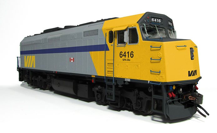 VIA F40PH-2D by Rapido Trains Inc.