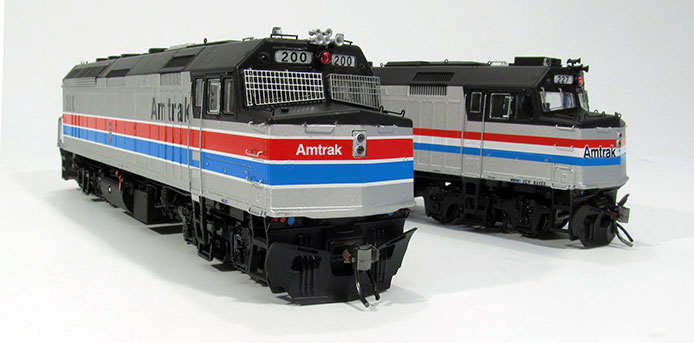 Rapido not Kato Amtrak F40