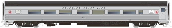 Rapido Budd Coach - Seaboard Coast Line