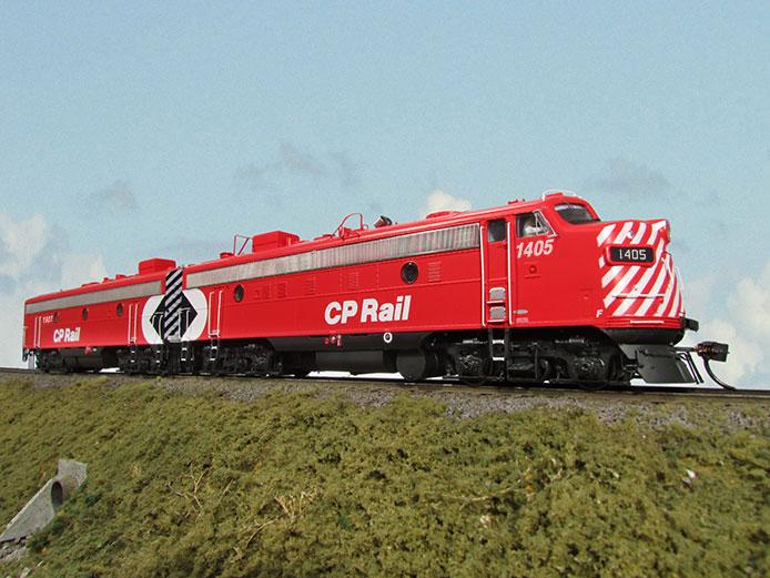 CP Rail FP9A and F9B