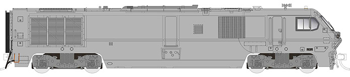 Rapido Trains LRC - Undecorated