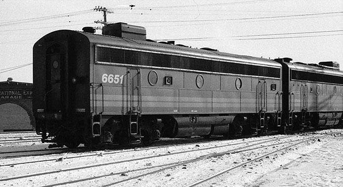 F9B Locomotives