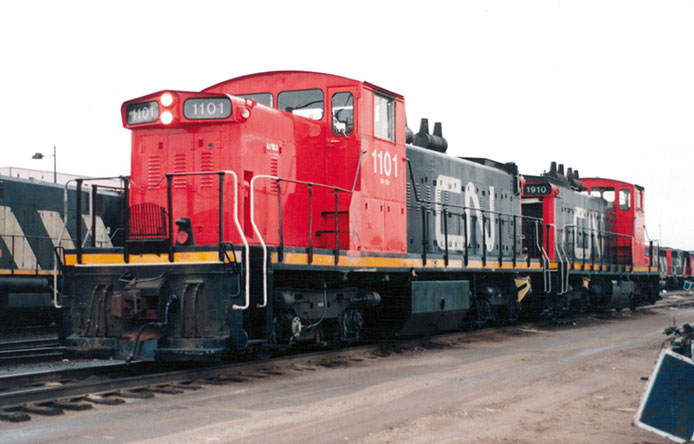 CN GMD-1 1101 and 1910