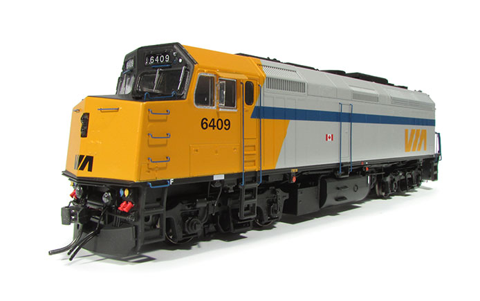 Rapido F40PH-2D VIA Rail Canada