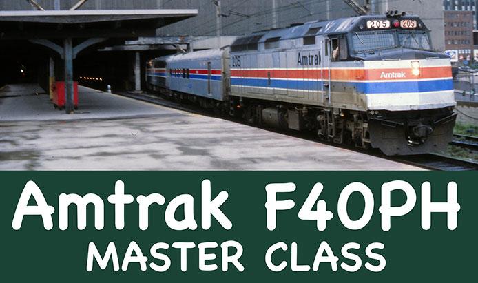 Rapido Amtrak F40PH Master Class