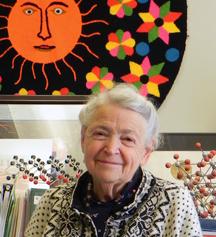 MIT Institute Professor Emerita Mildred S. Dresselhaus.