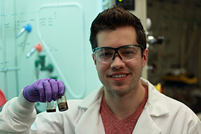 MIT chemical engineering graduate student Mark C. Weidman and colleagues have demonstrated how to synthesize lead sulfide nanocrystals of uniform size.