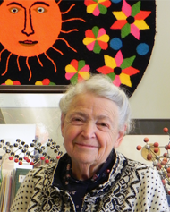 MIT Institute Professor Emerita Mildred S. Dresselhaus.