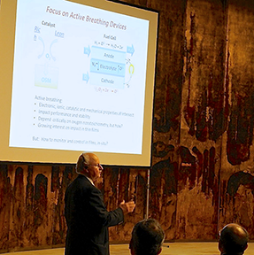Harry L. Tuller, Professor of Ceramics and Electronic Materials, delivers the  Plenary lecture at Electroceramics XIV held in Bucharest, Romania, June 16-20, 2014.