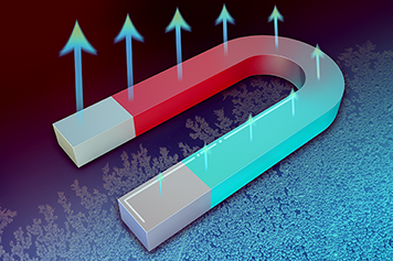 New theory predicts magnets may act as wireless cooling agents. Illustration, Jose-Luis Olivares, MIT