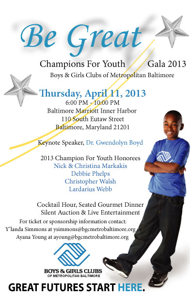 Be Great Gala Save The Date