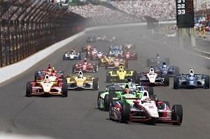 Indy 500 racecars