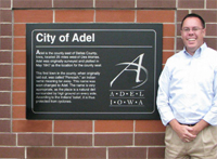 Chad A. Bird, City Administer Adel Iowa