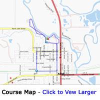John D Gomke 2011 5K Map