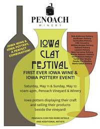 Iowa Clay Festival - Penoach Winery Adel Iowa