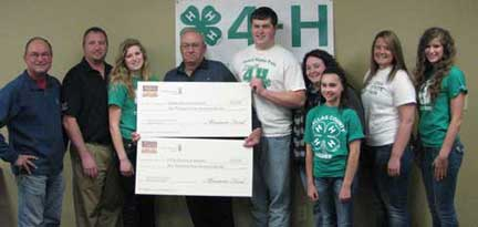 Donation Dallas County 4H