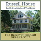 Russell House B&B and Tea Room