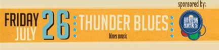 Free Concert Thunder Blues Adel Iowa
