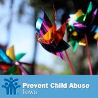 Child Abuse Prevention Ceremony - Adel Iowa